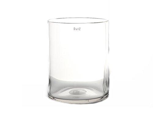 Dutz Vase Cylinder H19 D15 - hohe glasvase glasvasen glasvase große glasvasen.