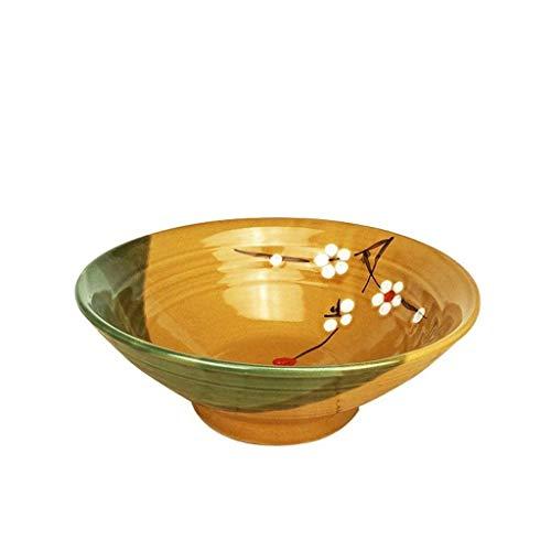 HAILI Tableware, Keramiknapf Schüsseln Geschirr Keramiknapf, Chinesisch Haushalt Eindickung Antiverbrühschutz Ramen Rindfleischsuppe Nudel Chongqing kleine Nudel-Schüssel Multi-Größe for Kitchen Gesch