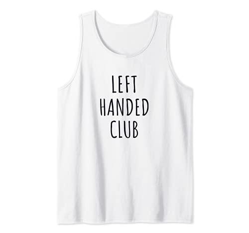 Lefties Unite Club zurdo Camiseta sin Mangas