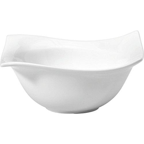 Maxwell & Williams Motion Schale Eckig, Schüssel, Schälchen, Porzellan, Weiß, 14 cm, RP00214