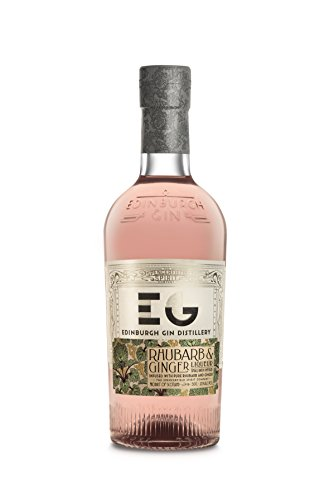 Edinburgh Gin Pink Gin Likör Rhubarb Ginger / Rhabarber Ingwer, (1 x 0.5 l)