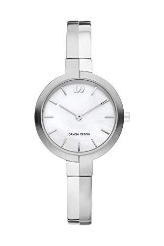 Danish Design Titanium Reloj analógico para Mujer Quartz Titanio Plata iv62q1149