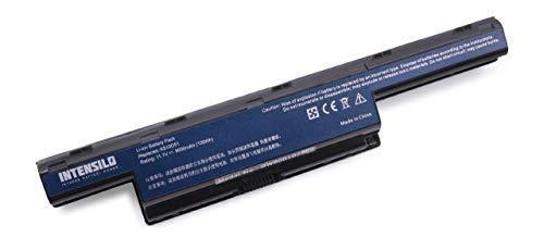 INTENSILO Akku wie AS10D31 für Acer Aspire E1-Serie und Aspire V3-Serie wie V3-771G, V3-731, V3-771, E1-531 Laptop Notebook - (Li-Ion, 9000mAh, 10.8V)