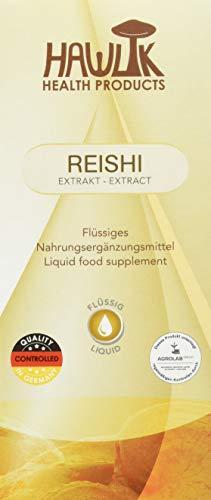 Hawlik Gesundheitsprodukte Reishi Flüssigextrakt, 100 ml