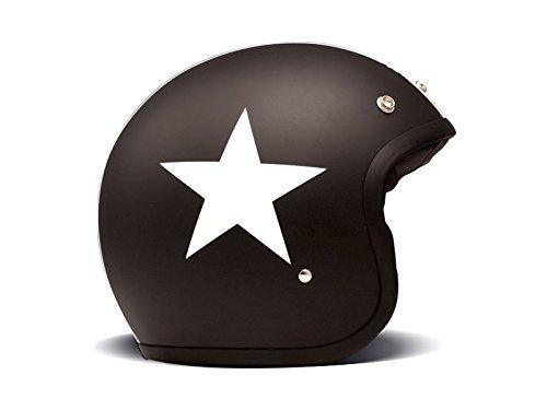 DMD Motorcycle Helmet, Schwarz, Größe M1 56