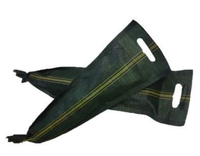 k/a Silosäcke, Silosandsäcke, 25x100, Sandsäcke, UV-beständig, ungefüllt, mit Zugband und Griff, 12 Stück