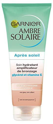 Garnier Soin hydratant amplificateur de bronzage, après-soleil - Le tube de 200 ml