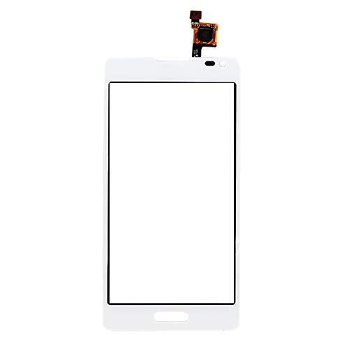 JUNXI Phone case Phone Cover Touch Panel for LG Optimus F6 / D500 (Black) Highly Recommended (Color : White)