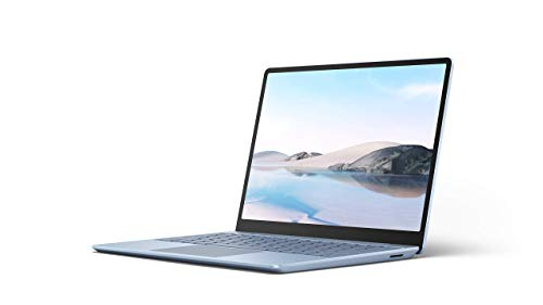 "Microsoft Surface Laptop Go Ultra-Thin 12.4"" Touchscreen Laptop (Ice Blue) - Intel 10th Gen Quad Core i5, 8GB RAM, 128GB SSD, Windows 10 Home in S Mode, 2020 Edition"
