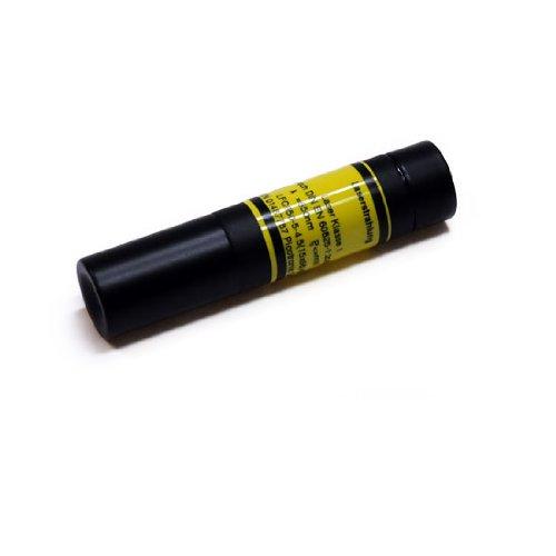 LASERFUCHS Punktlaser, rot, 650 nm, 0.4 mW, Ø15x68 mm, Laser Klasse 1, Fokus fixiert (5.0m) - 70112573