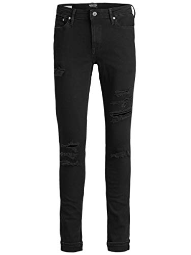 JACK & JONES Herren Plus Size Skinny Fit Jeans Liam Original AM 502 50SPS 4232Black Denim