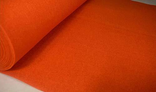 Fabrics-City Tessuto Feltro Artigianale 100Cm~4Mm Arancioni, 3987