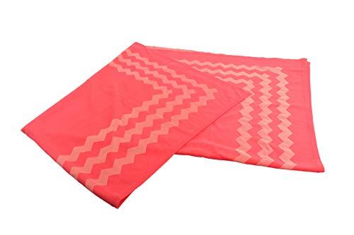 MÄRZ Damen Tuch Schal 110x100cm Rot/Koralle 60% Schurwolle ATN. 975301 Neu