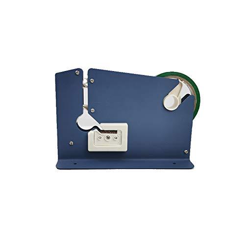 セーフラン(SAFERUN) バッグシーラー 袋とじ機 青 スチール 対応テープ幅9-12mm 袋口を簡単にシール封 ※シールは別途お買い求めください ブルー J2347