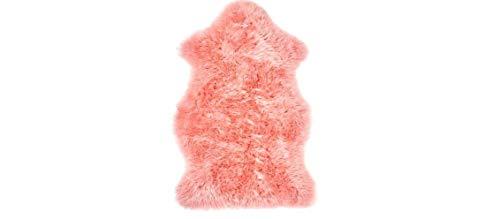 IKEA SMIDIE Schaffell, gefärbt, sehr weich und bietet zusätzlichen Komfort [Rosa]