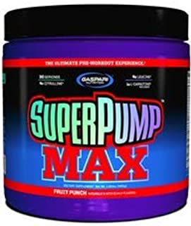 Super Pump Max Sabor Grape Cooler (480g) - Gaspari Nutrition