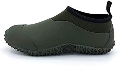 SYLPHID Men's Garden Shoes Women's Rain Shoe Waterproof Neoprene Camp Booties for Camping, Lawn Care, Gardening and Yard Work