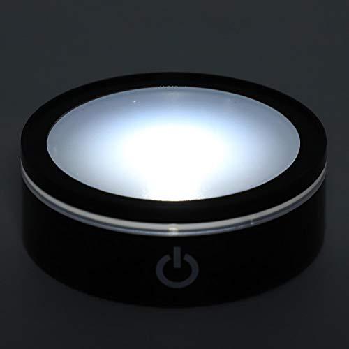 Hoseten Base de Talla 3D, Base Colorida de Doble Uso para USB y batería para el hogar para el Dormitorio