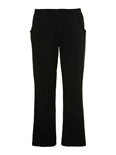 Ulla Popken Hose, Bootcut, Pantalones para Mujer, Negro (Schwarz 10), 62