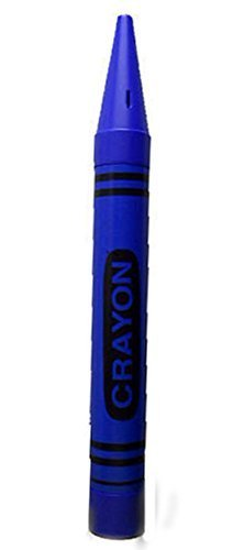 ROCKYMART Universal Affect - Crayon Coin Savings Bank - Please Note That The Dimensions are Approximately 22.5' Tall x 2.25' Wide & deep - Color: Blue