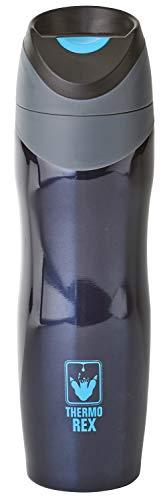 Thermobecher Kaffee to Go | Isolierbecher 450ml | Druckknopf-System | Ideale Trinkflasche für unterwegs | Trinkbecher Auslaufsicher für Erwachsene