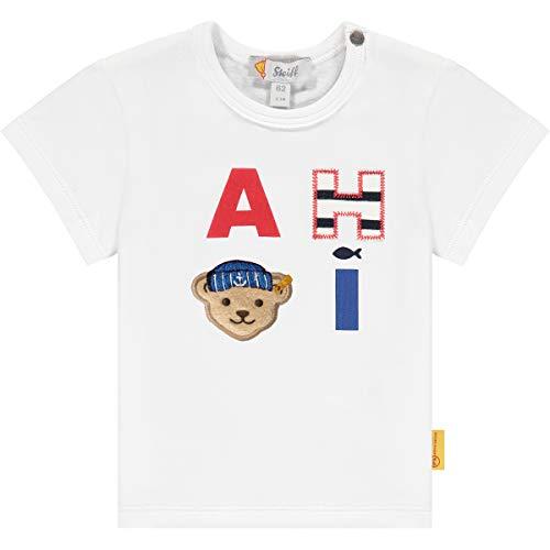 Steiff Jungen T-Shirt, Bright White, 86