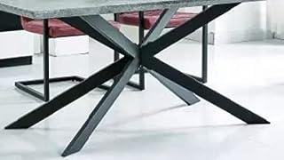 North Pieds de Table à Manger araignées étoile Spider 140 * 73*H72cm