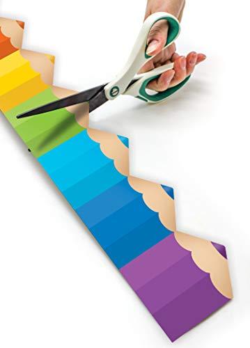 Colored Pencils Die-Cut Rolled Border Trim Photo #2
