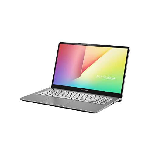 Asus Vivobook S S530FN-BQ184T PC portable 15' Gris métalisé (Intel Core i7, 8 Go de RAM, 1 to + SSD 256 Go, Nvidia MX 150 2Go, Windows 10) Clavier AZERTY Français