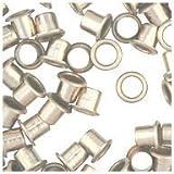 WidgetCo 1/4' Nickel Shelf Pin Sleeves