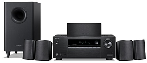 cheap Onkyo HT-S3900 5.1 Channel Home Theater Receiver / Speaker Kit, Black