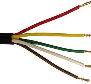 Cavo per applicazioni automobilistiche da 12/V 24/V 2//3//4//5//7 nuclei a parete sottile rotondo e piatto colore: rosso e nero Wire4u