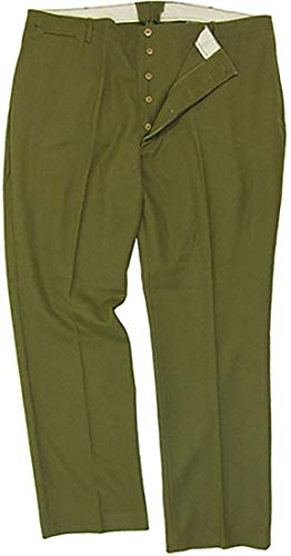 Mil-Tec American M37 Wool Trousers - Heavy Issue (42 inch) Olive