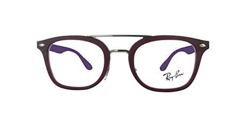 Ray-Ban JUNIOR 0RY1585 Monturas de gafas, Matte Transparente Violet, 47 Unisex