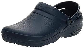 Crocs Unisex Men s and Women s Specialist II Clog   Work Shoes Navy 11 US