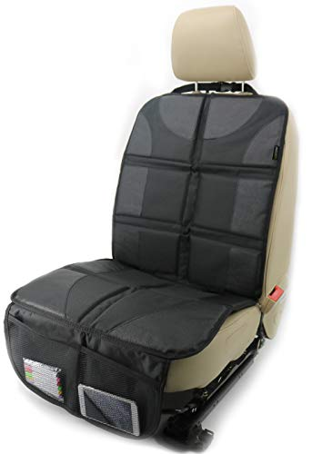 Sunferno Car Seat Protector - Protects Your Car Seat from Baby Car Seat Indent, Dirt and Spills -...