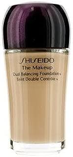 Shiseido The Makeup Dual Balancing Foundation SPF 17 O40 Natural Fair Ochre 0.10 oz