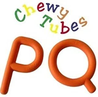 Chewy Tubes Ps and Qs in Orange