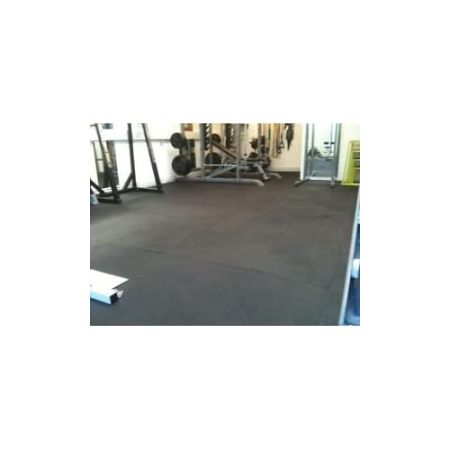 Rubber gym flooring amazon