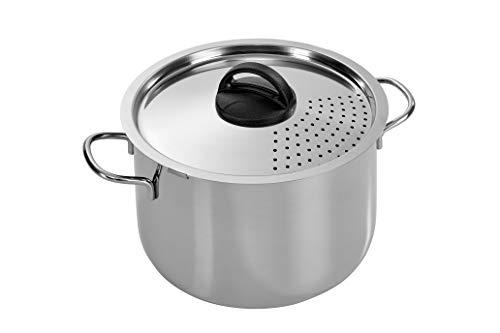 Barazzoni Spaghettieri Scolaveloce Inox, 22 Cm, Acciaio Inossidabile, 5.5 Litri, Acciaio