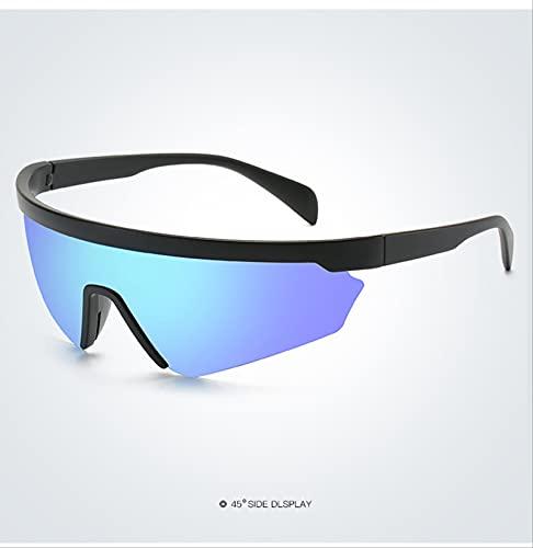ODNJEMSD Frameless Polarizing Sunglasses Men's Sports Cycling Windproof Sunglasses