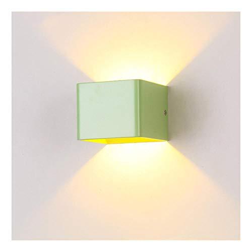 hal, minimalistisch, modern, hotel, hal, buiten, waterdicht, dimbaar, LED, wandlamp van aluminium