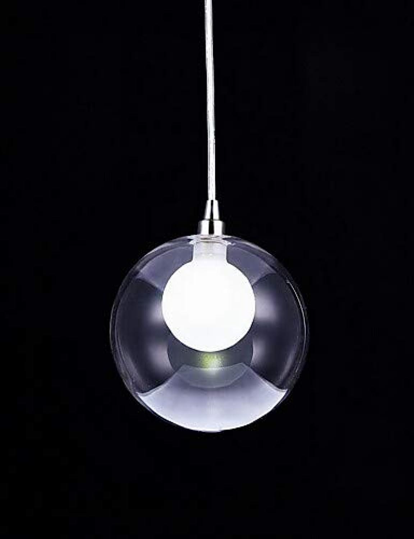 LPZSQ Glaskugel Beleuchtung Hngeleuchten Hngeleuchten Beleuchtung Hngeleuchten led Moderne Lampe 1 Licht, cool Weiß-220-240v