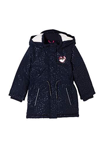 s.Oliver 403.12.009.16.151.2039756 Abrigo de lana, Dark Blue Aop, 116 cm para Niñas