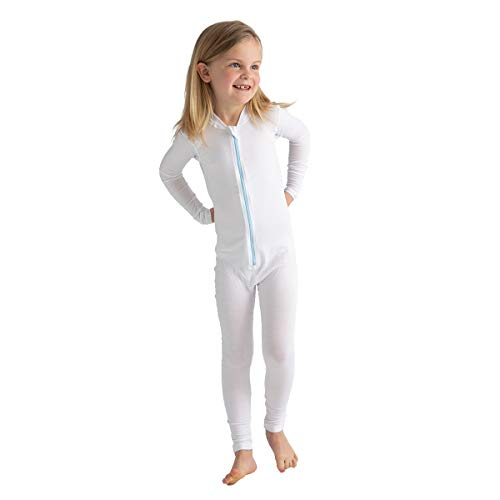 WrapESoothe Eczema Clothing Tencel Body Suit for Kids 67 Years