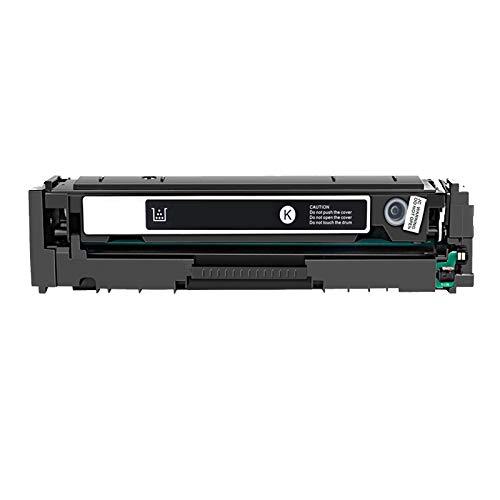 AKAK Reemplazo de tóner CF540A Compatible para Cartucho de tóner HP 203A CF540A para Impresora HP Color Laserjet Pro MFP M254 M254DW M254NW M280 M280NW M281CDW M281FDN Black