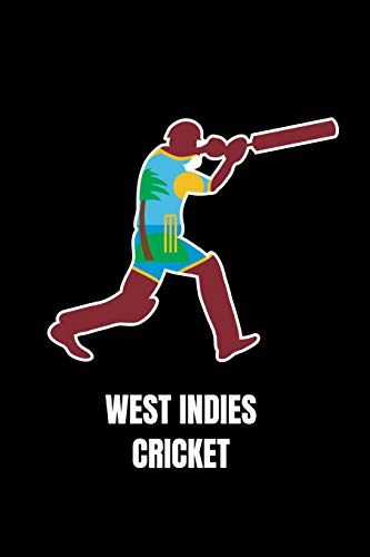 West Indies Cricket: Notebook 120 Pages Journal 6x9 Blank Line