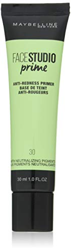 Maybelline New York - Base de Teint Perfectrice - Face Studio Prime - N°30 Anti-Rougeurs - 30 ml