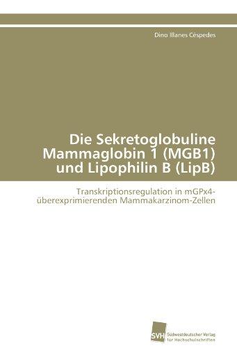 Die Sekretoglobuline Mammaglobin 1 (MGB1) und Lipophilin B (LipB): Transkriptionsregulation in mGPx4-überexprimierenden Mammakarzinom-Zellen