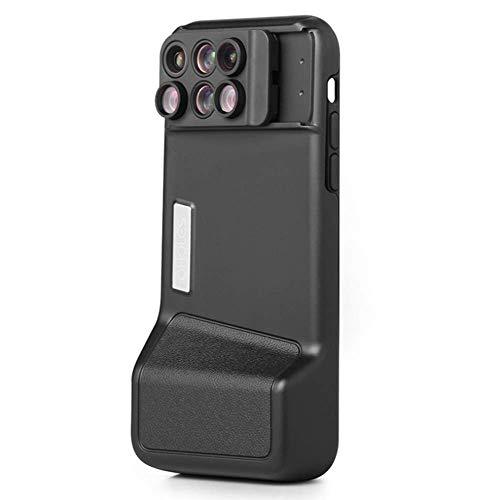 WANGYONGQI Ap-ple x mobiele telefoon lens, groothoek macro fisheye telefoto verhogen iphoneX spiegel, portret achtergrond vervaging lens